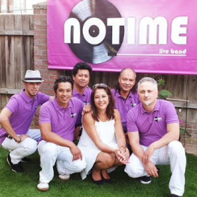 Coverband NOTIME boeken