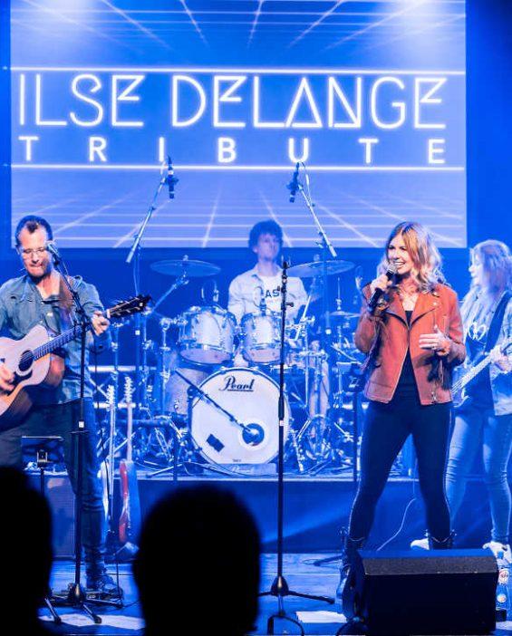 Ilse de Lange tribute boeken