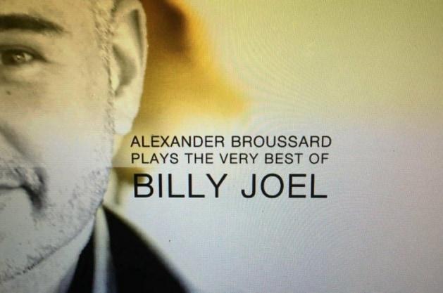 Alexander Broussard, Billy Joel experience boeke